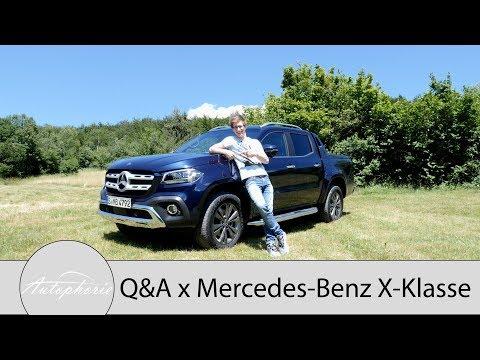 2018 Mercedes-Benz X-Klasse: Eure Fragen - Fabian antwortet [4K] - Autophorie