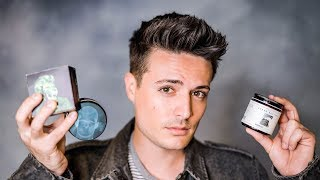 Mens Short Hairstyle Tips | BEST Hair Products For Short Hair