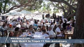 Nikki Beach St Tropez 11 Year Anniversary