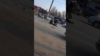Страшное ДТП произошло 5 апреля 2018 г. в Цимлянске