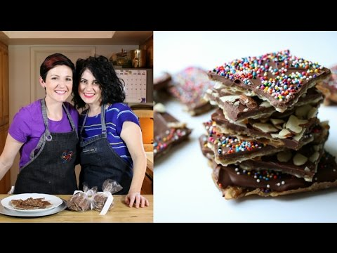 Video Toffee Matzah - Passover Dessert Recipe
