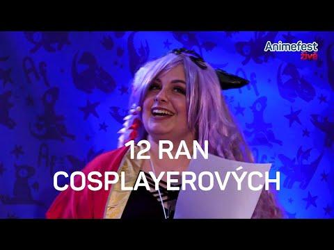 12 ran cosplayerových