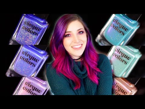 Cirque Dreamscapes Winter 2018 Nail Polish Collection Review || KELLI MARISSA