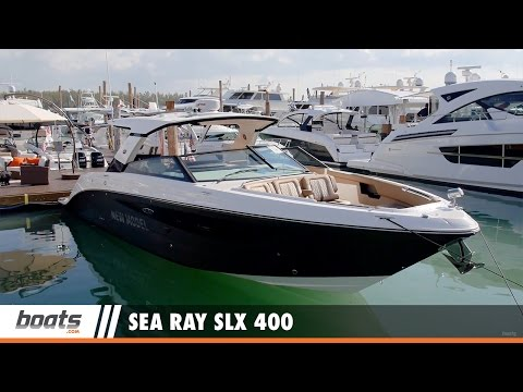 Sea Ray SLX 400: First Look Video Sponsored by United Marine Underwriters
