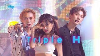 [Comeback Stage]Triple H -  RETRO FUTURE , 트리플 H - RETRO FUTURE Show Music core 20180721