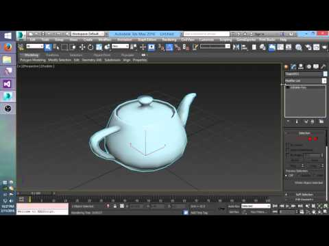 Blender Cycles for 3ds Max, Plugin  — polycount