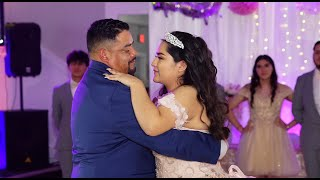 Beautiful Father And Daughter Dance - Quinceanera