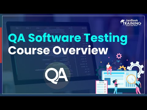 QA Software Testing Course Overview   Software Testing Online ...