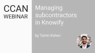 Managing Subcontractors in Knowify