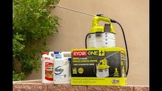 Ryobi 18 Volt Chemical Sprayer Review