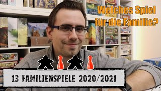 #Top Familienspiele 2020/2021 | große Auswahl an tollen Spielen für Familien