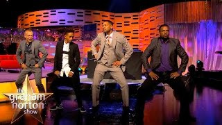 Will Smith, Alfonso Ribeiro and DJ Jazzy Jeff Perform The Carlton Dance - The Graham Norton Show