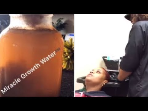 HOW TO USE MY MIRACLE RICE WATER IN SALON TUTORIAL