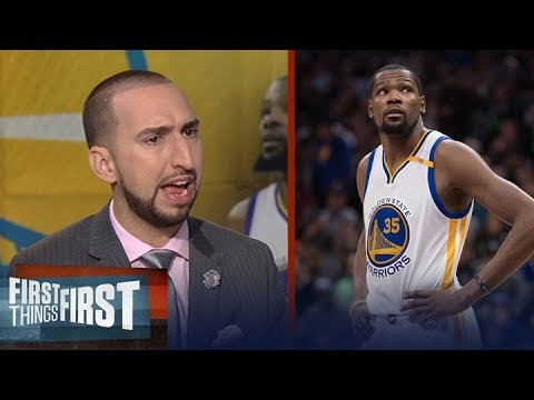Warriors worried about Kevin Durant after Twitter fiasco? They should be | FIRST THINGS FIRST