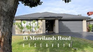 13 Merrilands Road Reservoir