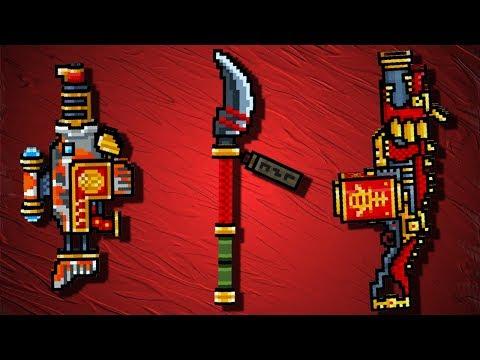 Pixel Gun 3D - Oriental Set Gameplay