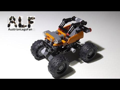 Vidéo LEGO Technic 42001 : Le mini tout-terrain
