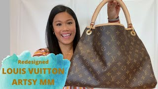 Review Of The Redesigned Louis Vuitton Artsy MM