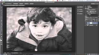Converting Color Photos to Black and White Images in Photoshop