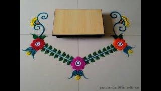 Ganesha chaturthi special rangoli design | Ganpati Rangoli design | Easy rangoli designs