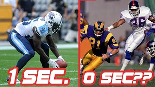 Fastest Scores in NFL History || Within 15 Seconds