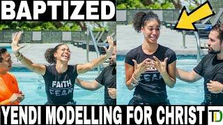 Yendi Phillipps gets Baptized | Teach Dem
