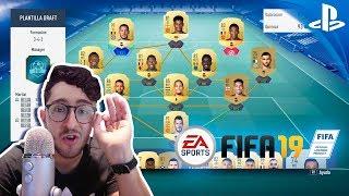 EL PRIMER FUT DRAFT DE FIFA 19 !!!