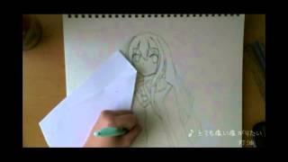 Rin Shibuya  - (THE iDOLM@STER: Cinderella Girls) - Drawing Shibuya Rin - THE iDOLM@STER: Cinderella Girls