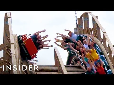 The Roller Coaster Designed for High Fives