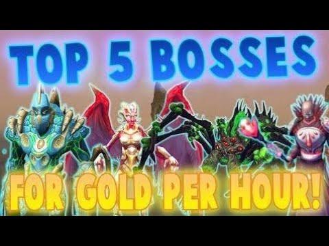Runescape 2017 | Top 5 Bosses for GP/hr! | 30m gp/hr?! - смотреть