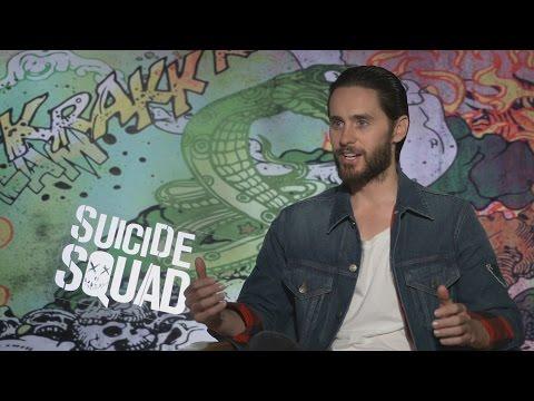 Jared Leto speaks as The Joker: