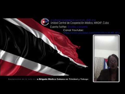 Colaboradores cubanos en Trinidad y Tobago en lucha contra el Covid-19