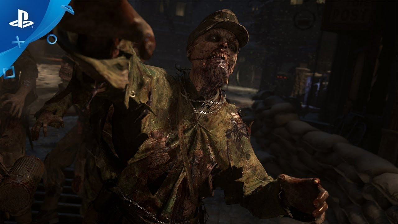Sledgehammer Wants to Make Zombies Scary in Call of Duty: WWII