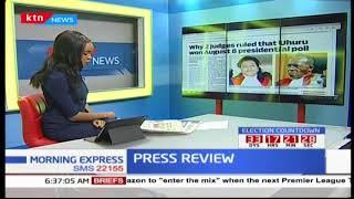 Why two judges ruled that Uhuru Kenyatta won August 8th presidential poll