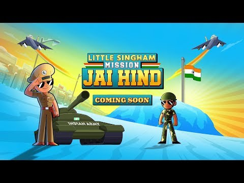 Download Little Singham Mission Jai Hind Teaser Promo – Coming Soon | Kids Cartoon | Discovery Kids HD Mp4 3GP Video and MP3