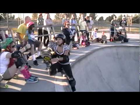 Women Skate-it-Up! Skull-Bowl Contest Heat #2 of 3. 2012