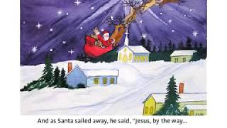 The Night Jesus Met Santa Claus