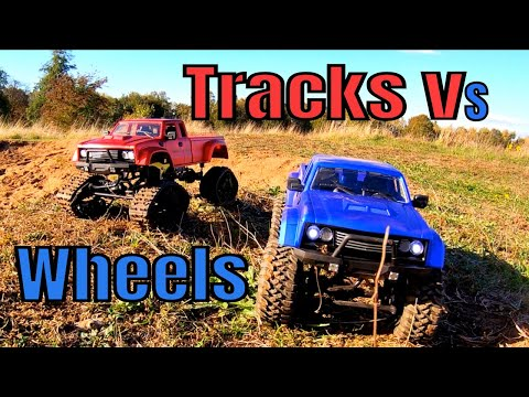 Fayee FY002B Tracked RC Truck. Vs FY002A . New Budget RC Review