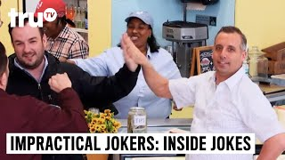 Impractical Jokers: Inside Jokes - Joe Can't Stop High-Fiving | truTV