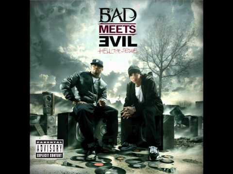 Bad Meets Evil - A Kiss (Diss Lady Gaga & Justin Bieber) [Hell the Sequel]