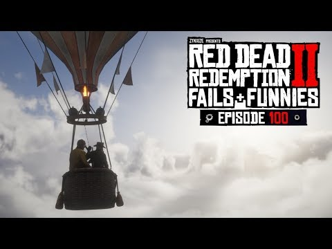 Red Dead Redemption 2 - Fails & Funnies #100
