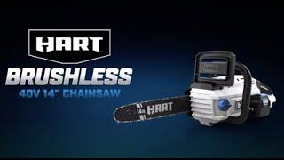 """40V Brushless 14"""" Chainsaw"""