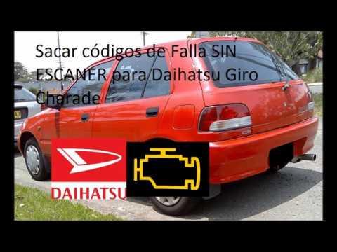 Falla Sensor de temperatura Daihatsu Charade g200 1.3 1999