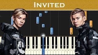 Marcus & Martinus   Invited | Piano Tutorial