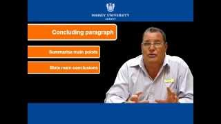 Paragraph Writing for MBA Students | Massey University