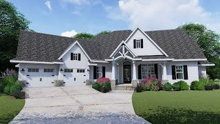 Architectural Designs Country Craftsman House Plan 16902WG Virtual Tour
