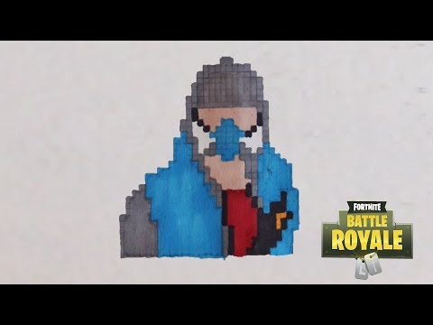 Comment Dessiner Un Lame De Fortnite Pixel Art смотреть онлайн