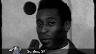 """Pelé no 'Mesa Redonda: Futebol é com Onze"""" (TV Gazeta - 1974)"""