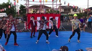 地元のお祭りでU.S.Aを踊ってみた!