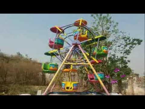 round wheel amusement park ride